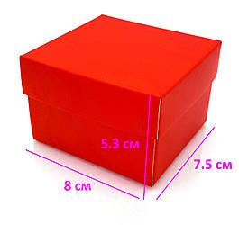 Коробка подарочная на Часы, красная