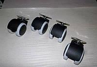 Набор колес на платформе резиновых 50мм