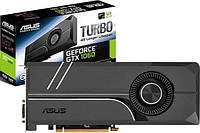 Asus PCI-Ex GeForce GTX 1060 Turbo 6GB GDDR5 (192bit) (1506/8008) (DVI, 2 x HDMI, 2 x DisplayPort) (TURBO)