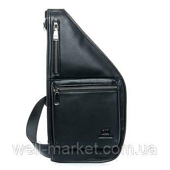 PODIUM Рюкзак Городской кожаный BRETTON 1006-6 black
