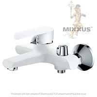 Смеситель для ванны с душем Mixxus colorado 009 euro (white)