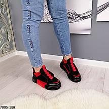 Черно красные кроссовки, фото 3