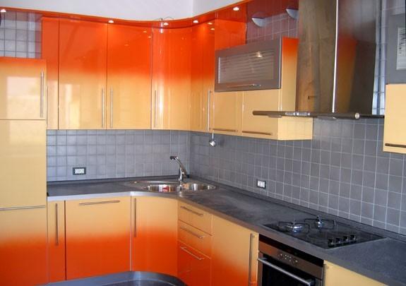 Кухня угловая Постформинг
