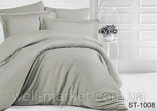 Комплект постельного белья страйп-сатин ST-1008