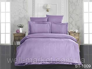 Комплект постельного белья страйп-сатин ST-1009