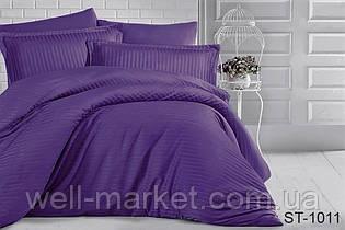 Комплект постельного белья страйп-сатин ST-1011