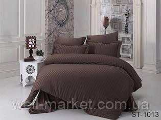 Комплект постельного белья страйп-сатин ST-1013