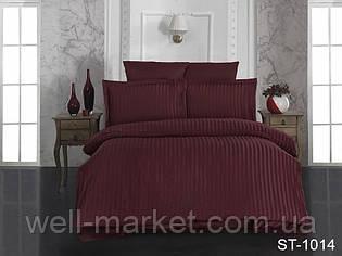 Комплект постельного белья страйп-сатин   ST-1014