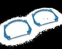 Переходные рамки Passat B6 галоген - линзы Hella NEW / Hella 3R / Bi-LED