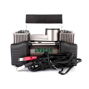 ✅Автомобильный компрессор URAGAN 90170 автокомпрессор для подкачки шин Ураган,