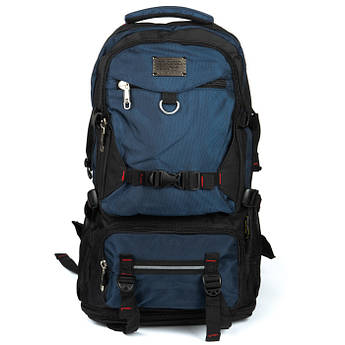 PODIUM Рюкзак Туристический нейлон Royal Mountain 7913 black-blue