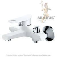 Смеситель для ванны с душем Mixxus dallas 009 euro (white)