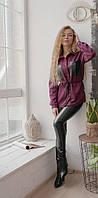 Рубашка женская замшевая в расцветках  41981, фото 1