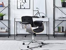 Кресло компьютерное с подлокотниками DUCK DĄB PALONY-CZARNY , фото 2