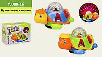"Музыкальная игрушка ""Черепаха"", 2 цвета, YJ388-16"