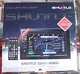 Автомагнитола Shuttle SDUN-6960 GPS (2 DIN, навигация), фото 5