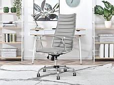 Кресло офисное для работы за компьютером Z EKOSKÓRY DO GABINETU BERLIN SZARY , фото 2