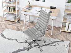 Кресло офисное для работы за компьютером Z EKOSKÓRY DO GABINETU BERLIN SZARY , фото 3