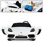 Детский электромобиль Bambi Porsche M 4055AL-1 Белый, фото 5