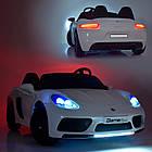 Детский электромобиль Bambi Porsche M 4055AL-1 Белый, фото 9