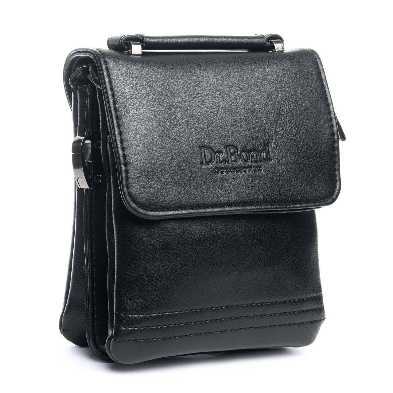 Сумка Мужская Планшет иск-кожа DR. BOND GL 319-0 черная
