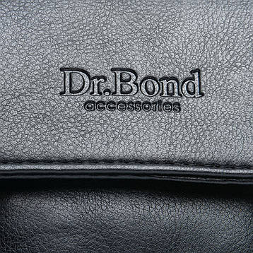 Сумка Мужская Планшет иск-кожа DR. BOND GL 319-0 черная, фото 2
