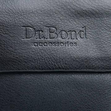 Сумка Чоловіча Планшет штучна-шкіра DR. BOND GL 316-0 чорна, фото 2