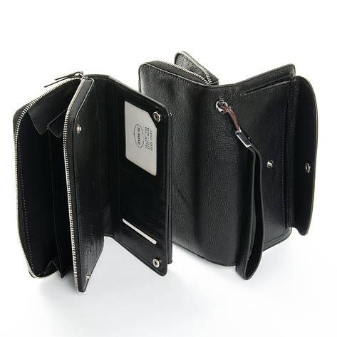 Кошелек Classic кожа DR. BOND WS-22 черный, фото 2
