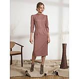 Стильное платье-футляр с рукавом три четверти, фото 4
