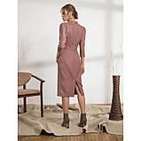 Стильное платье-футляр с рукавом три четверти, фото 5