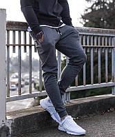 Мужские спортивные серые штаны