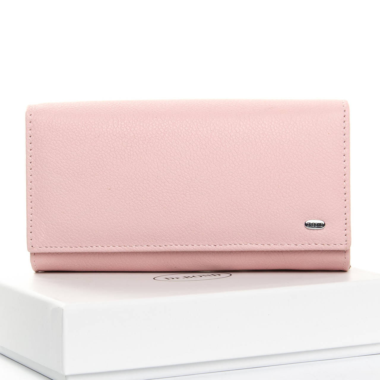 Кошелек Classic кожа DR. BOND W46-2 pink