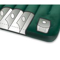 Кровать матрас надувной с насосом велюр Intex 66928, фото 3