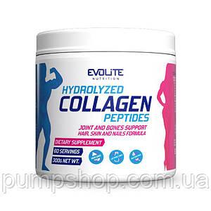 Гидролизованные колагенові пептиди Evolite Hydrolyzed Collagen Peptides 300 г