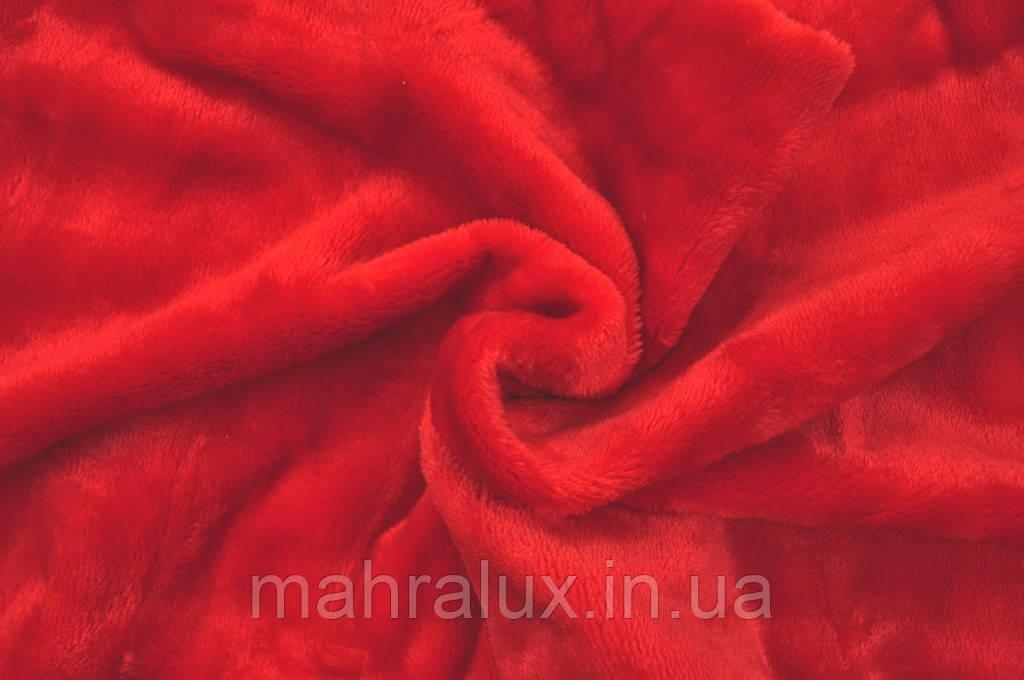 """Махра велсофт красная """"Пурпур"""" Турция"""