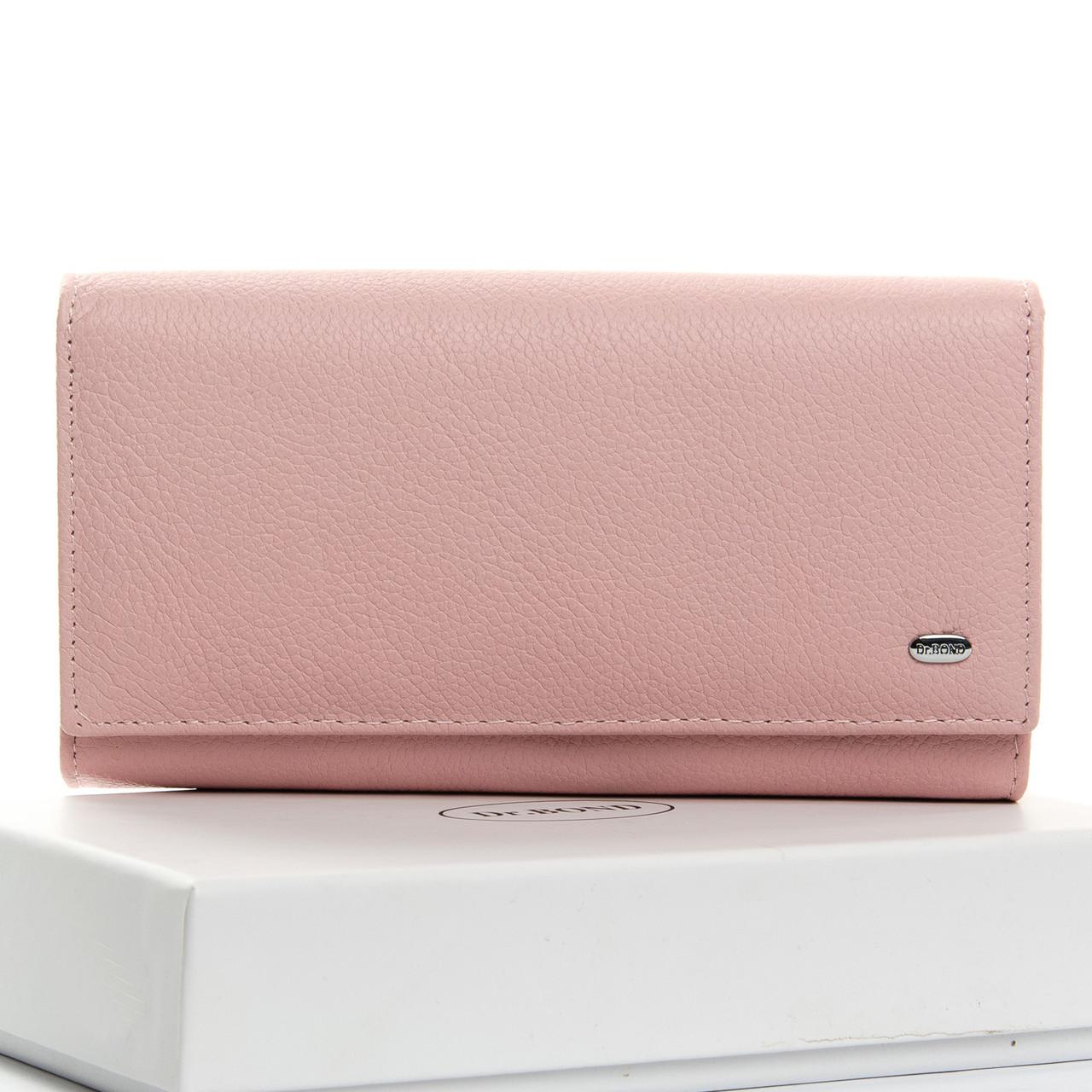 Кошелек Classic кожа DR. BOND W46 pink