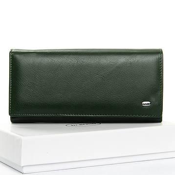 Кошелек Classic кожа DR. BOND W1-V темно-зеленый, фото 2