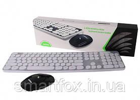 Клавиатура беспроводная+ мышь беспроводная комплект HK 3960