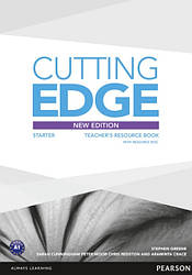Cutting Edge Third Edition Starter Teacher's Book with Resource Disc