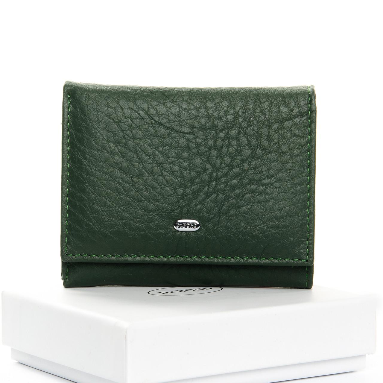 Кошелек Classic кожа DR. BOND WS-6 темно-зеленый