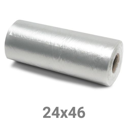 Пакет майка полиэтиленовый в рулоне - 24х46, 200 шт.