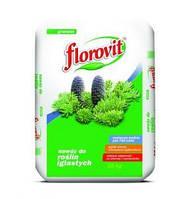 Флоровит(Florovit) гранулированное удобрение для хвойных и вечнозеленых растений 20 кг