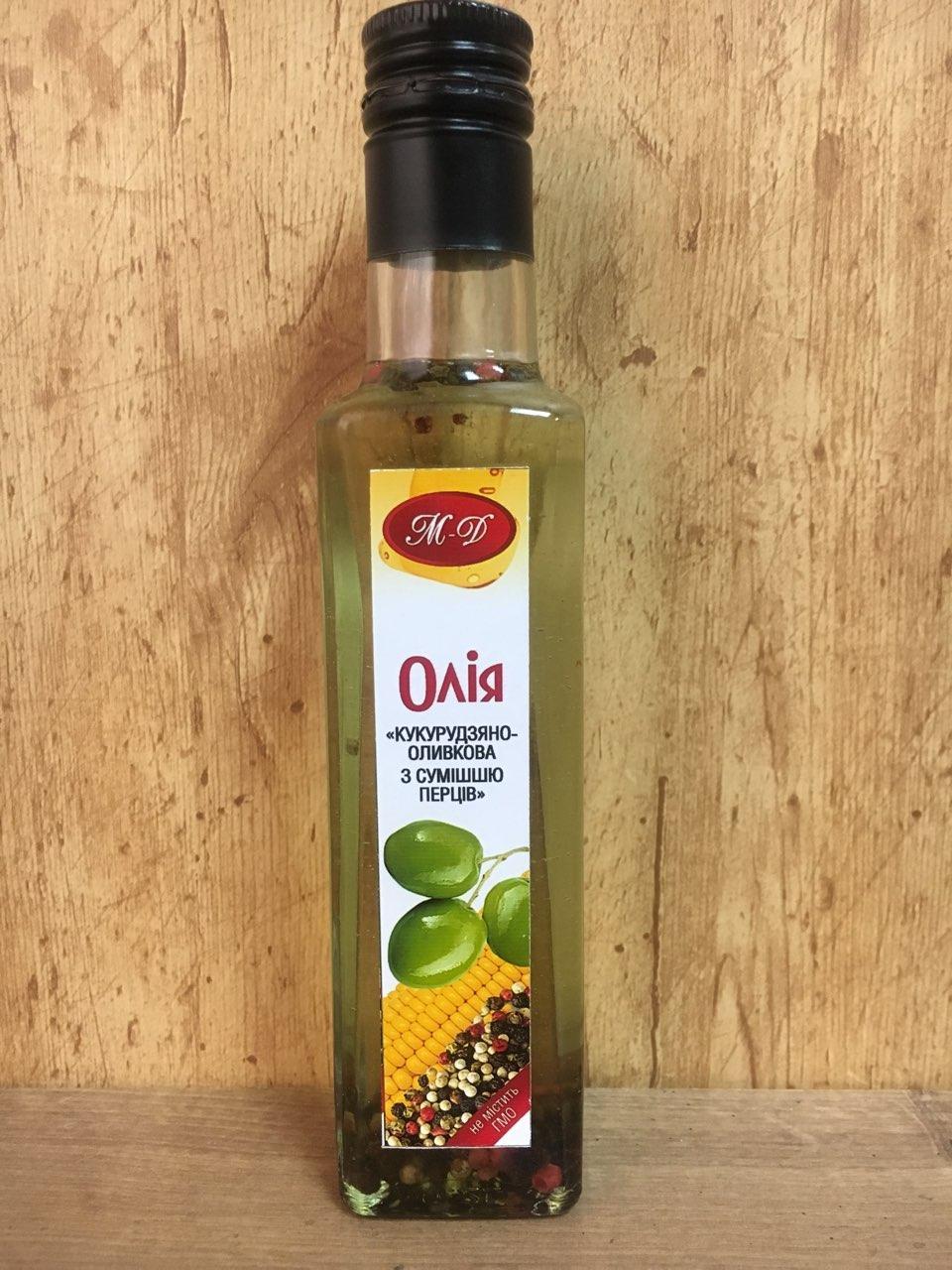 Кукурузно оливковое масло со смесью перцев