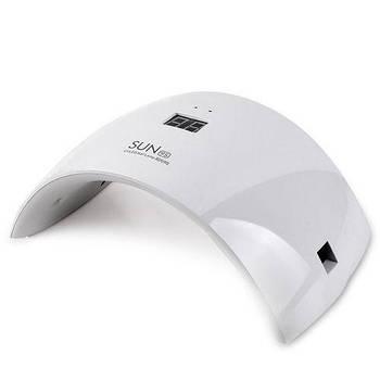 Лампа для гель лака 24W LED UV SUN 9S White