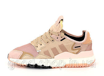 """Женские кроссовки Adidas Nite Jogger """"Pink"""" (копия)"""