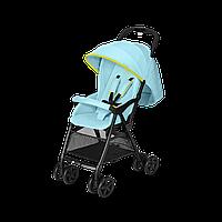 Коляска YOKI Neon Light Blue (дощовик+бампер) Cybex