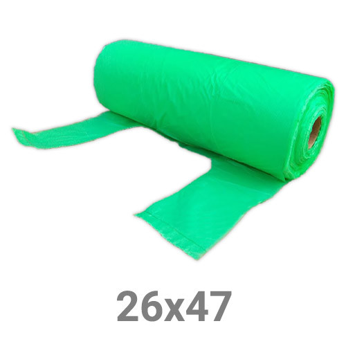 Пакет майка полиэтиленовый в рулоне - 26х47 см