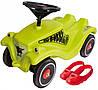 Детская машинка каталка Racer Classic Big 56074 толокар + накладки на обувь для детей