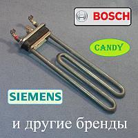 ТЕН 2000W / 200мм для пральної машини Bosch, Siemens, Канді і т. д. (отвір, без бурту)
