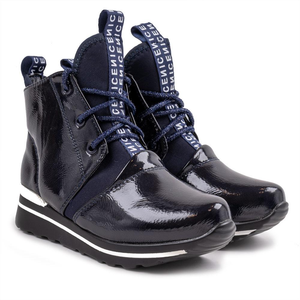 Ботинки для девочек Солнце 29  синий F30-31